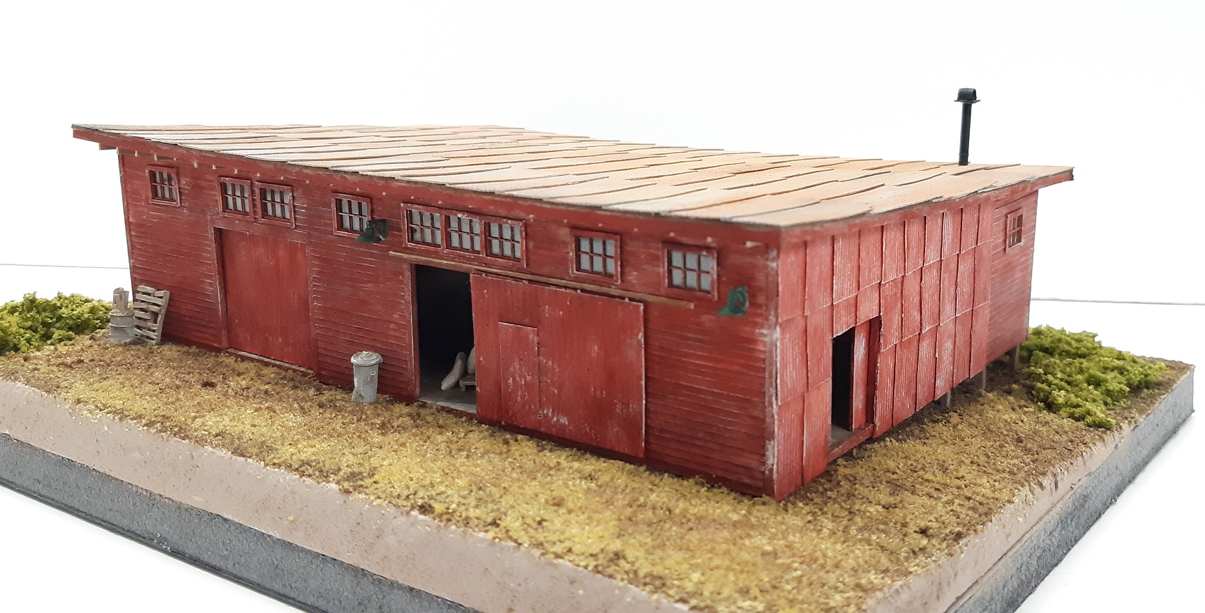 Boone Warehouse ~ N scale