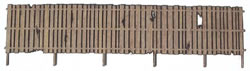 S Scale 8 ft Security Fence