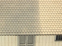 OO Scale Round Cut Shake Shingles