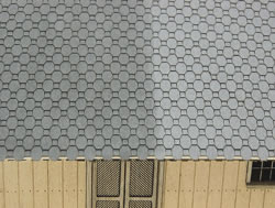 OO Scale Three D Octagon Shingles