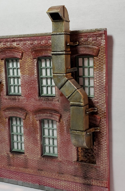 Wall Mounted Exhaust System No 2 ~ HO Scale
