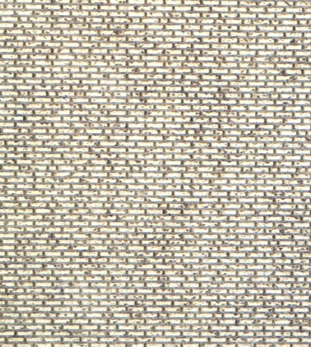 HO Scale Aged American Bond Brick Wall Sheet