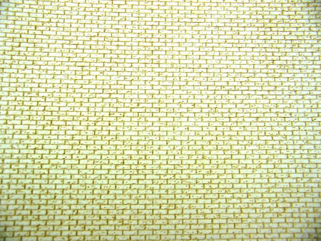 1:35 Scale Aged Common Brick Wall Sheet