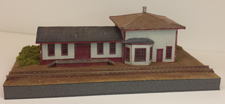Mahoney Station ~ N scale
