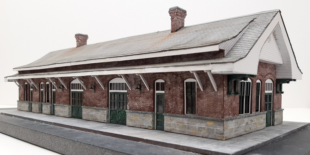 Spartanburg Depot ~ HO scale