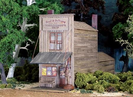 The Tobacconist's Shop ~ HO Scale