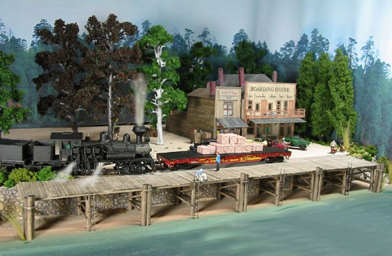The Wharf ~ HO Scale