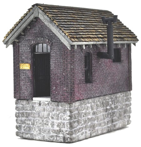 Hoosegow Jail House ~ HO Scale