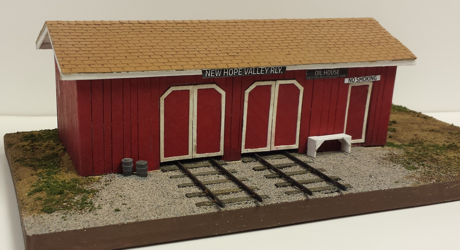 Speeder & Oil Shed ~ O scale