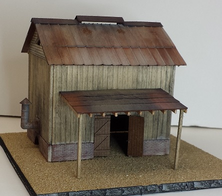 The Tobacco Barn ~ HO scale