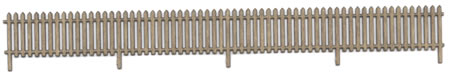 HO Pointed Top Picket Fencing