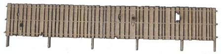 S Scale 6 ft Security Fence