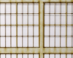 O Scale 8x4 Thin Frame Factory Style Windows