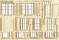 1:35 Scale Window and Door Assortment