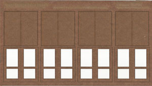 1:35 Scale Fancy Panel Freight Doors