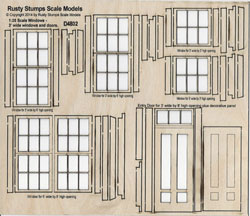 1:25 Scale Windows and Doors
