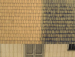 N Scale Straight Cut Cedar Shake Shingles