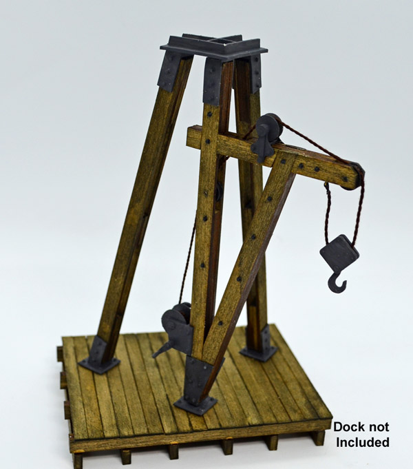 Dock Hoist ~ HO scale