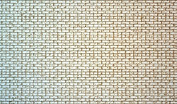 S Scale Aged Common Brick w  Bonding Wall Sheet