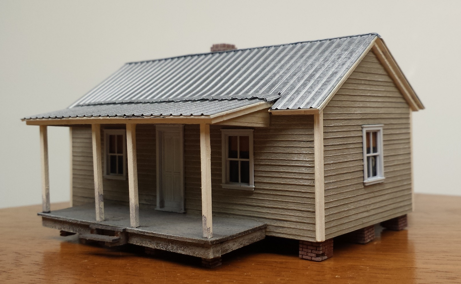 Mill Village Company House #1 ~ HO scale