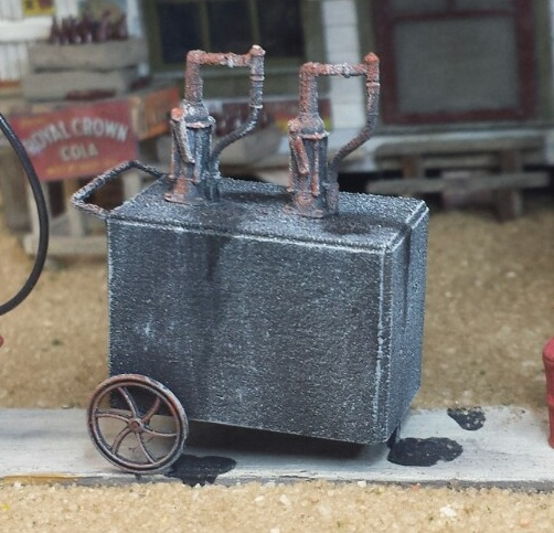 Oil Siphon Cart ~ O scale