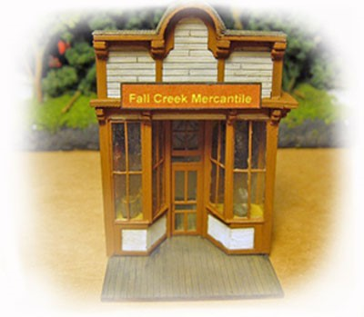 The Mercantile Store ~ HO Scale