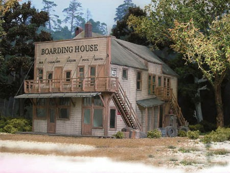 Kelley's Boarding House ~ HO Scale