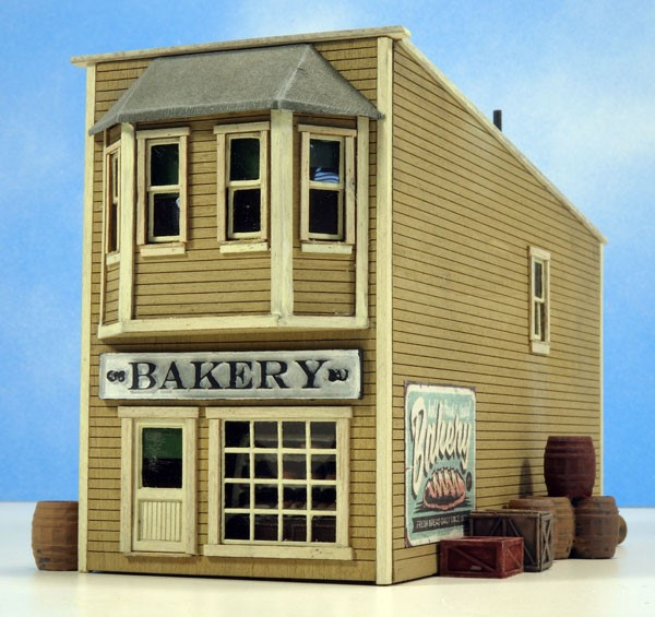 Brown's Bakery Shop ~ HO Scale