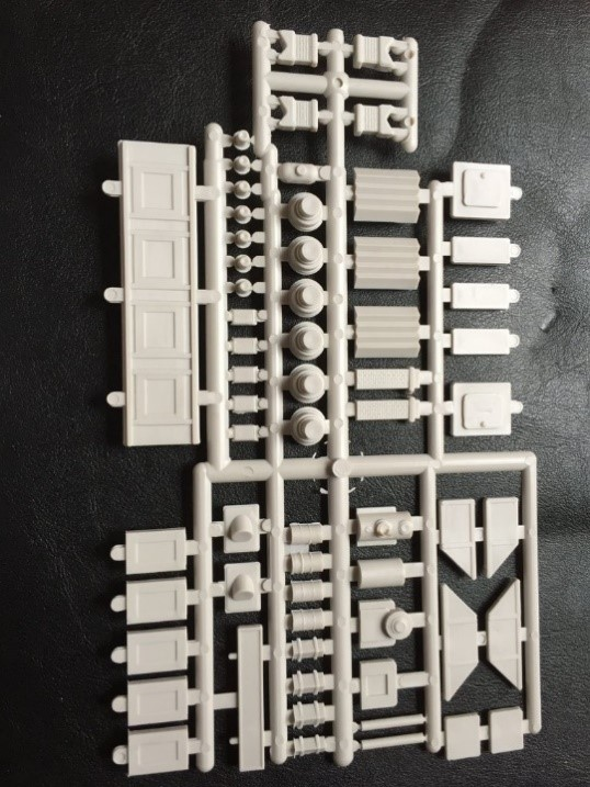 Detail Parts Sprue ~ HO Scale
