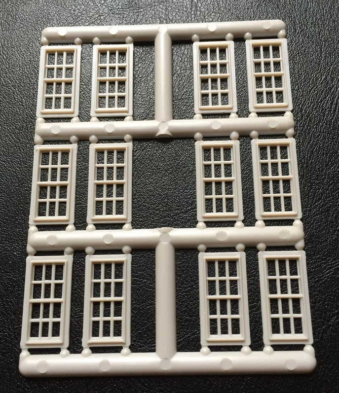Windows Sprue No 9 ~ HO Scale