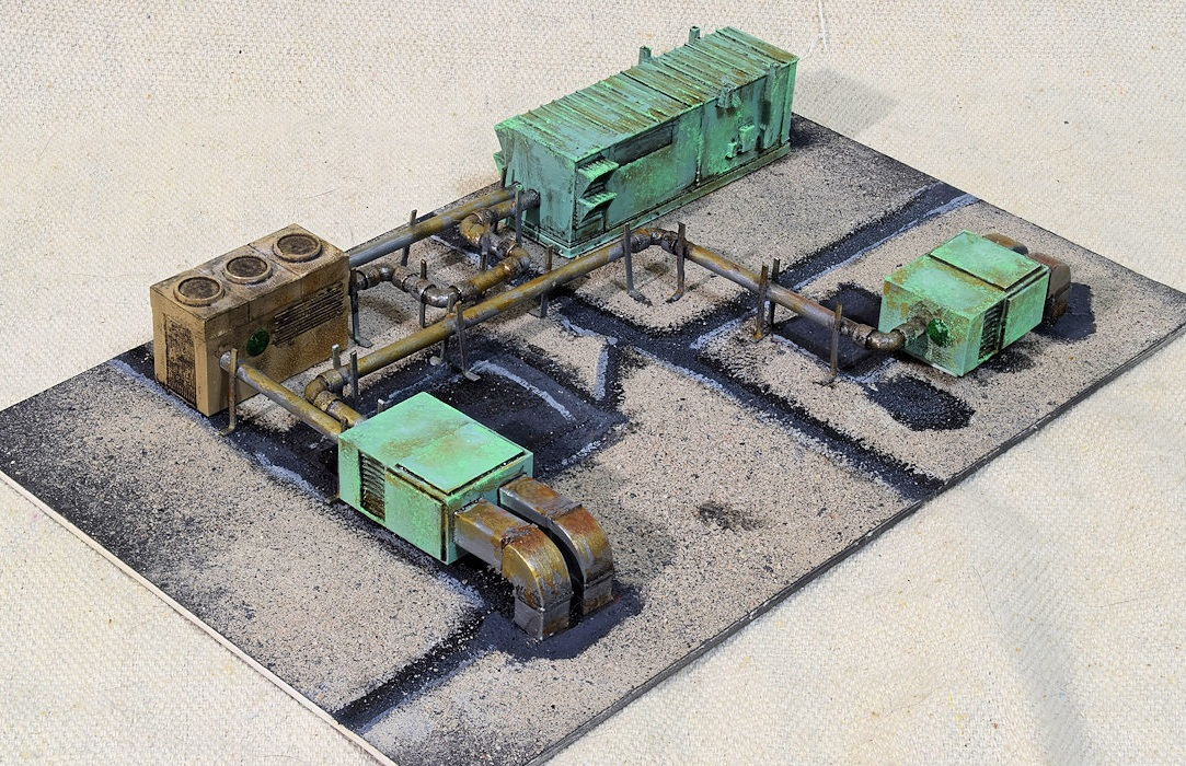 Roof Top HVAC System #2 ~ HO Scale