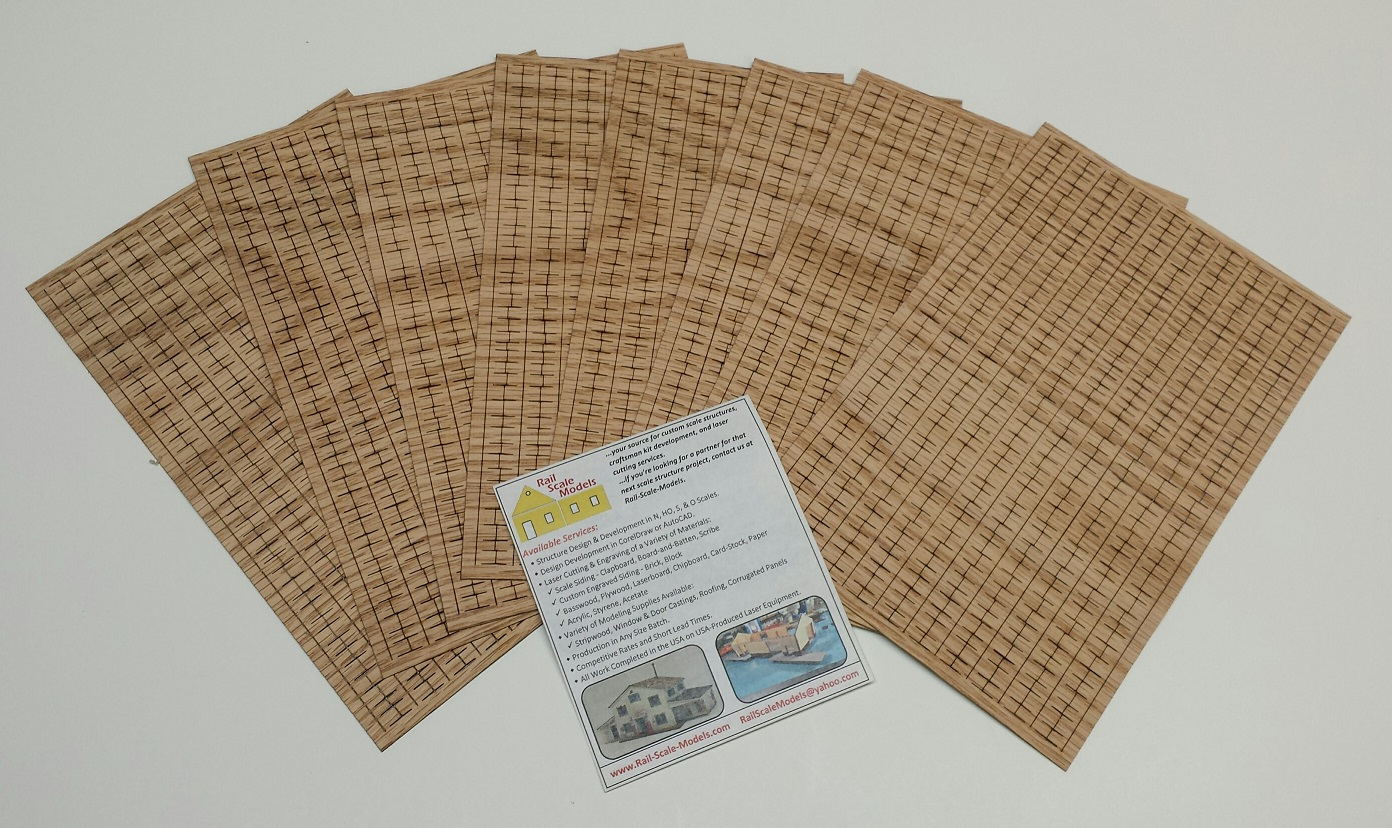 O REAL WOOD Random Cut Shake Shingles ~ Short Length